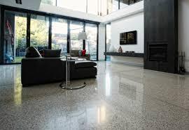 polished concrete floors house