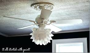 replacing ceiling fan with light fixture lovable replacement ceiling light covers lighting