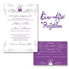 64 best wedding invitations images on pinterest disney weddings Purple Disney Wedding Invitations choosing your disney wedding invitations for a fairy tale theme Elegant Wedding Invitations