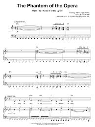 phantom of the opera song sheet music the phantom of the opera sheet music direct