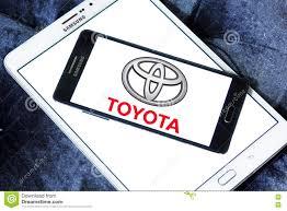 Toyota car logo editorial stock image. Image of producer - 76869519
