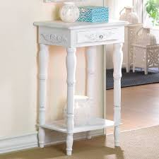 cosenza antique white accent table touch to zoom
