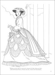 Small Picture Dover Pubs Victorian Fashions Coloring Book on the Dover