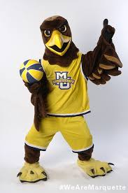 golden eagles mascot.  Mascot Golden Eagle  By Marquette University  With Eagles Mascot G