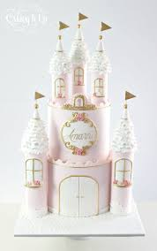 Regal Princess Castle Cake Cake By Caking It Up Cakesdecor