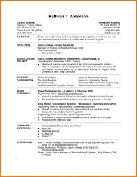 Fearsome Resume Template College Student Templates Curriculum Vitae