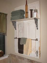 wall shelf with coat rack creative idea to reuse and recycle old french door