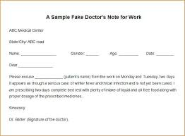 Make A Doctors Note Online Hcarrillo