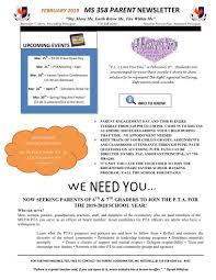 Pta Elections Flyer Pta Flyers Documents Parents M S 358