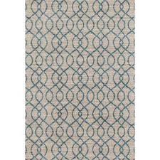 modern trellis high quality soft blue 8 ft x 10 ft area rug