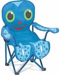 child size folding chairs. Melissa \u0026 Doug Child-size Folding Travel Octopus Chair, Grey Metal Child Size Chairs .