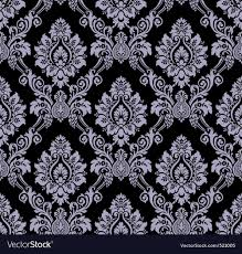 Damask Pattern Free Seamless Damask Pattern Royalty Free Vector Image
