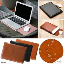 laptop sleeve bag pu leather case pouch for macbook air 13 macbook pro 13 trade me