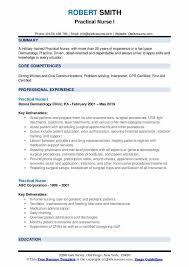 Charting Practice For Nurses Practical Nurse Resume Samples Qwikresume