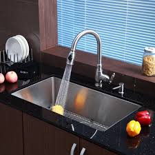 new kitchen sink and faucet combo taste