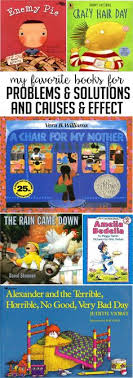 read alouds for problem and solution cause and effect