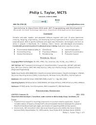Resume Format For 1 Year Experience Dot Net Developer Best Of Resume