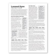 Dharma Lanaset Dyes