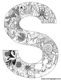 Small Picture httpdailycoloringpagescomimagess animal alphabet letters to