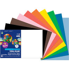 Pacon Tru Ray Assorted Construction Paper 12 X 18 Walmart Com