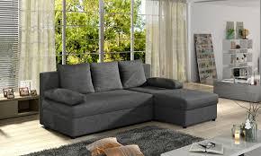 Couchgarnitur Gino Als L Form Mit Schlaffunktion Und