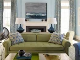 green living room chair. great combination of olive and navy in this living room green chair d