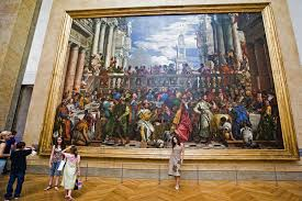 the wedding at cana the largest painting in the louvre paris by