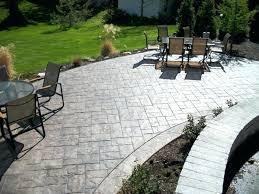 cool concrete patio ideas 7 ashlar slate stamped concrete