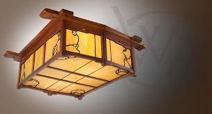 style lighting. Pratt House Mahogany Ceiling Mount Fixture \u2013 Greene And Style Lighting