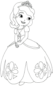 wonderful design ideas. Wonderful Design Ideas Printable Sofia The First Coloring Pages Interior