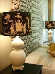 custom fabric covered lampshade