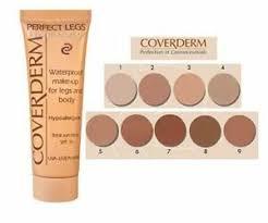 Details About Coverderm Perfect Legs Waterproof Make Up 50ml Vitiligo Pigment Tattoos