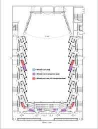 Benaroya Seating Chart Taper Auditorium