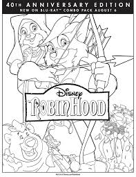 Small Picture Robin Hood Coloring Page Robin Hood Movie Night Disney Movie