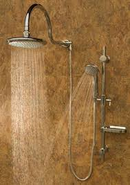 brushed nickel shower system. Pulse ShowerSpas Aqua Rain Shower System - Brushed Nickel S