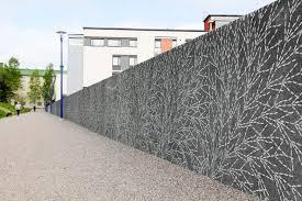 facade form liner for walls stamped concrete flow swarm