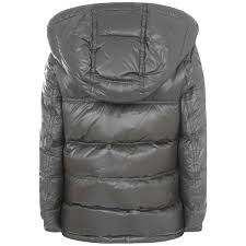 Moncler Baby Boys Grey Gaston Down Padded Jacket