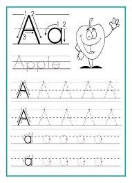 Pre Kindergarten Worksheets Pdf Preschool Letter Tracing Worksheets Pdf