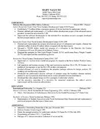 Free Examples Of Resumes Resume Template Ideas