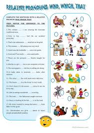 Relative Clause Worksheet Free Worksheets Library | Download and ...