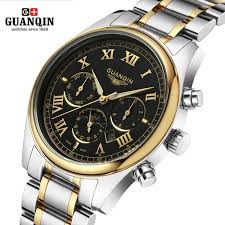 popular tag watch men buy cheap tag watch men lots from tag high quality original guanqin men watch top brand luxury tag watch men s shockproof waterproof stainless steel