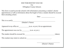 School Excuse Template Doctors Excuse Template For School Royaleducation Info