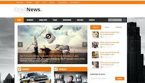 Newspaper Template Psd Best News And Magazine Website Templates Online Newspaper