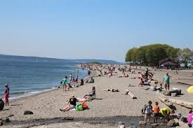 beach freaks flock to golden gardens park to soak the sun rays and picnic violent crime at the park is low this season despite a spike last year
