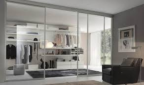 modern glass closet doors. Furniture \u0026 Furnishing Modern White Closet With Glass Sliding Doors Designed Beside Black Area Rug And
