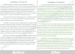professional rewording of any text before after sample 12 95