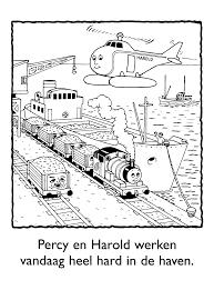 Kleurplaten Paradijs Kleurplaat Percy En Harold Werken Vandaag