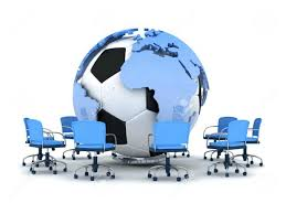 globe office chairs. globe furniture address abstract illustration soccer ball earth and office chairs stock 14617934 c