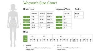 Boody Usa Size Charts
