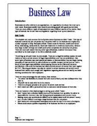business law gcse business studies marked by teachers com page 1 zoom in